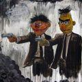 Die besten Bilder in der Kategorie strassenmalerei: Ernie und Bert