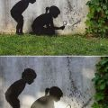 Die besten Bilder in der Kategorie graffiti: Kids, Humans, Ants, playing, Lens