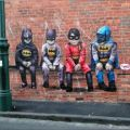 Die besten Bilder in der Kategorie graffiti: Robin, Batman, Graffiti, Kinder