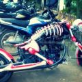 Die besten Bilder in der Kategorie Vote: Motorbike, Skeleton, Death, Bike