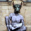 Die besten Bilder in der Kategorie graffiti: Taurus, Stierkopf, Graffiti