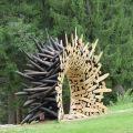 Die besten Bilder in der Kategorie kunst: Holz, Kunstwerk, Baumstämme, Loch, Schleifen