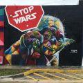 Die besten Bilder in der Kategorie graffiti: Star wars, Stop Wars, Grafitti, Master Yoda