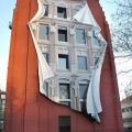 Die besten Bilder in der Kategorie graffiti: House, optical illusion, graffiti, 3D, shadow, facade