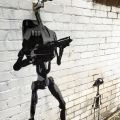 Die besten Bilder in der Kategorie graffiti: B1 battle droids, security camera, star wars
