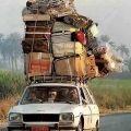 Die besten Bilder in der Kategorie transport: überladenes Auto, Peugeot, Indien