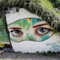 Die besten Bilder in der Kategorie graffiti: Realistic, graffiti, eyes, bushes, creative, art