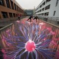 Die besten Bilder in der Kategorie Vote: Plasma, street painting, optical illusion