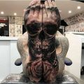 Die besten Bilder in der Kategorie Vote: Skull, arms, scary, tattoo