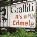 Die besten Bilder in der Kategorie graffiti: Grafitti, fun, sign, crime