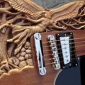 Die besten Bilder in der Kategorie Vote: Electric guitar, carving, angel, devil, skull