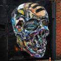 Die besten Bilder in der Kategorie graffiti: Skull, reflex, graffiti