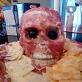 Die besten Bilder in der Kategorie Vote: Skull, bacon, cheese, plate, horror