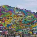 Die besten Bilder in der Kategorie graffiti: Village, houses, art, colorful, graffiti