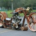 Die besten Bilder in der Kategorie Vote: Motorcycle, Harley, rusty, crown, retro, steam punk