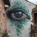 Die besten Bilder in der Kategorie Vote: Eye, graffiti, Escher, realistic, house wall, 3D