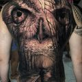 Die besten Bilder in der Kategorie Vote: Owl, forest, tattoo, dark, horror, way