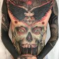 Die besten Bilder in der Kategorie Vote: Skull, wings, opera body, tattoo