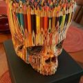 Die besten Bilder in der Kategorie Vote: Skull, crayons, paints, carving