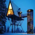Die besten Bilder in der Kategorie Vote: Stilts, house, triangular, spiral staircase, design