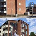 Die besten Bilder in der Kategorie Vote: Graffiti, house wall, 3D, art, optical illusion