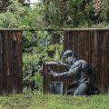Die besten Bilder in der Kategorie graffiti: Fence, graffiti, wallpaper, nature, optical illusion