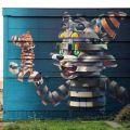Die besten Bilder in der Kategorie graffiti: Cat, mouse, graffiti, LSD, 3D, art