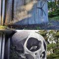 Die besten Bilder in der Kategorie graffiti: Skull, 3D, graffiti