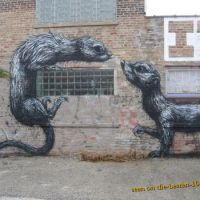 Rodents on Wall