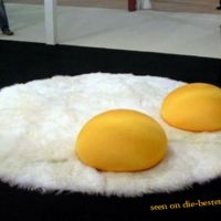 Fried Egg Designer Carpet