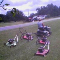 How to mowing