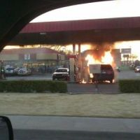 Gas Station Fire