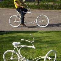 The Best Pics:  Position 1 in  - White Designer Bicycle