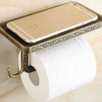 Toilet paper,holder, mobile phone, mobile, telephone, smartphone