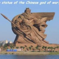 Statue, episch, gigantisch, China