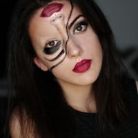 Make-up, LSD, optical illusion, Facepainting