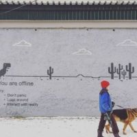 Browser, Message, Pixel, Street art